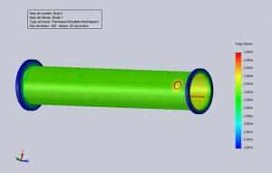 Recherche et développement de méthode NDT pour les conduits métalliques.